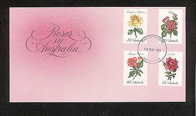 1982 FDC00846 ROSES First Day Cover CORIO VIC 3214 Postmark