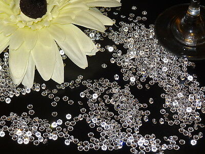 Clear Wedding Table Scatter Crystals Diamond Confetti Favour Decoration Mixed