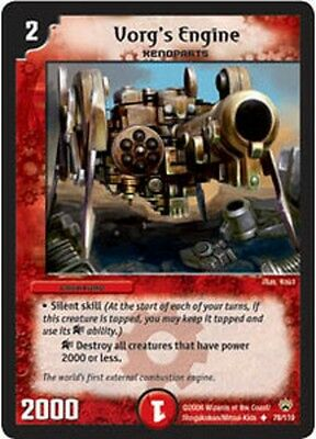 Duel Master TGC Vorg's Engine DM10 Shockwaves of the Shattered Rainbow