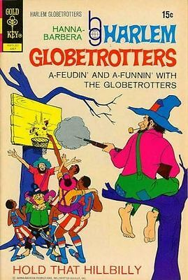 HARLEM GLOBETROTTERS #2 Fine, Sports Cartoon, Gold Key Comics 1972