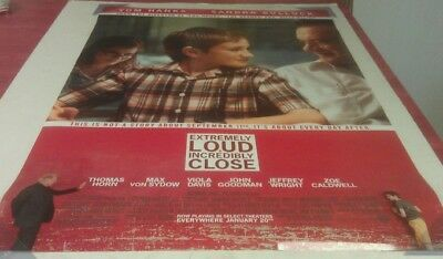 EXTREMELY LOUD AND INCREDIBLY CLOSE MOVIE POSTER 2 Sided ORIGINAL Ver B 27x40