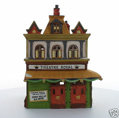 Department 56 Dickens' Village Series Theatre Royal 1989  #55840  Retired