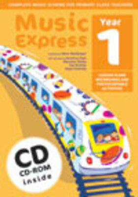 Music Express Year 1 (with CD/CD-ROM); MacGregor, H & Hanke, M. - 9780713662313