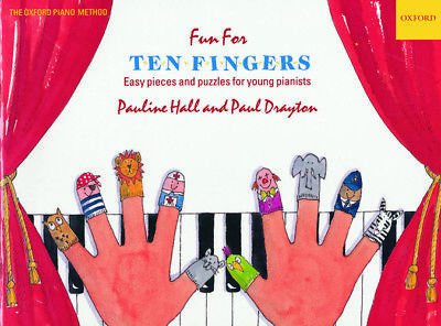 Fun for Ten Fingers, Paperback; Hall, Pauline; Drayton, Paul.; Piano.
