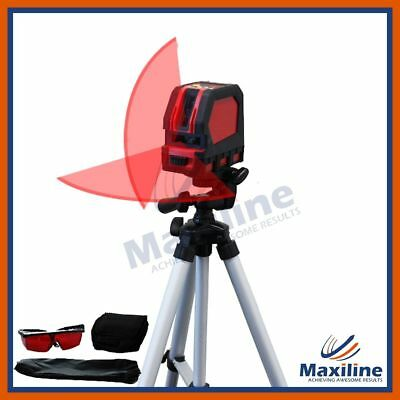 Multifunctional Self Leveling Cross Line Laser Level Floor Laser Tripod DIY Tool