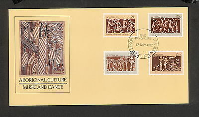 1982 FDC0869 ABORIGINAL CULTURE First Day Cover BONDI JUNCTION NSW 2022 Postmark