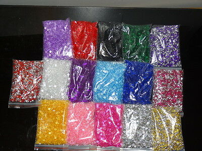 2000 Wedding Table Scatter Crystals Diamond Confetti Favour Decoration