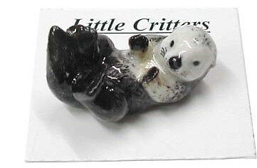 little Critterz Porcelain Miniature Sea Otter - LC209 (Buy 5 get 6th free!)
