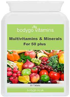 Multivitamins & Minerals for 50+