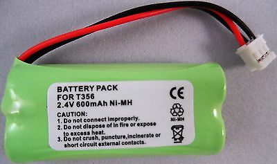 89H Philips Compatible Battery Bc103508 Bc10 2Hr-Aaau H-Aaa600X2 2.4V  T356