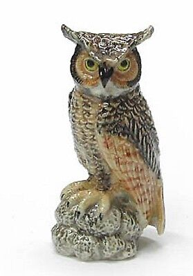 R192 Northern Rose -  Miniature - Great Horned Owl