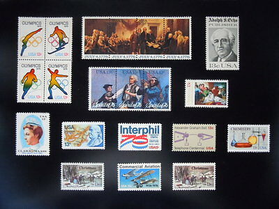 """1976 Commemorative Year Set 1629/1703   MNH  """"See Note"""""""