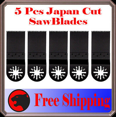5 Japan Tooth Cut Oscillating Multi Tool Saw Blade For Fein Multimaster Dremel