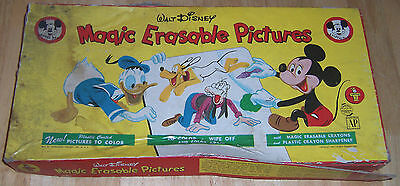 Walt Disney Magic Erasable Pictures, by Transogram Toys