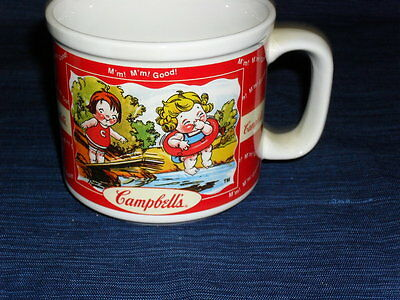 "3.5"" ceramic CAMPBELL'S SOUP KIDS Spring & Summer MUG or CUP"