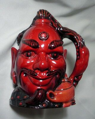 """Royal-Doulton Flambe-Aladdin's Genie -Character Jug - Limited Edition""""  D6971"""