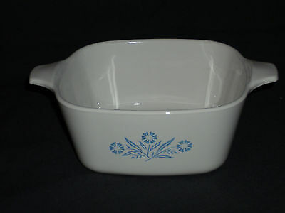 Orig Blue Cornflower Corning Ware 2 3/4 Cup Deep  Dish Bowl Pan NO LID