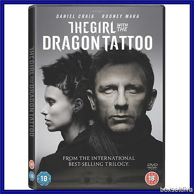 THE GIRL WITH THE DRAGON TATTOO - Daniel Craig *BRAND NEW DVD *
