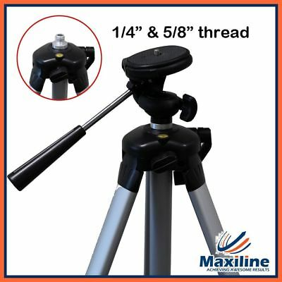 1/4 and 5/8 Thread Laser Camera Tripod for Laser Level Distance Measurer DSLR
