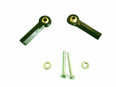 Ball Link Swivel Joint Brass and Nylon with Screws
