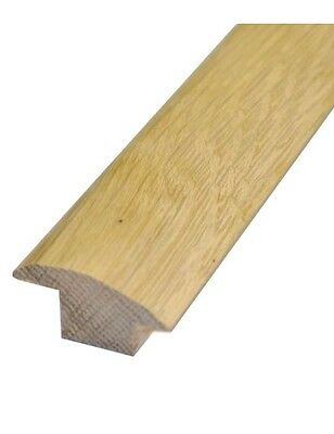 1m long Solid Wood Oak Door bar wood to carpet threshold pre-finished A Grade