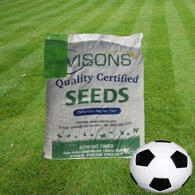 DEFRA Certified Seed Top Quality Front Lawn Mix, Grass Seed FINE LAWN