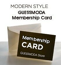New GUESS GUESSMODA Store Membership Card Discount Upgrade Shipping