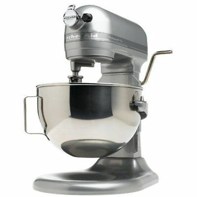 KitchenAid Stand Mixer 450W 10-Speed 5 Quart RKg25hOXMC Metalic Chrome All Metal