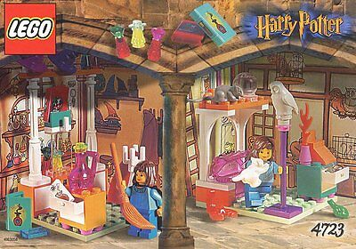 (Instructions) for 4723 - HARRY POTTER - Diagon Alley Shops - INSTRUCTION MANUAL