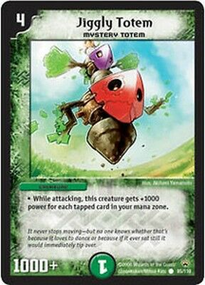 Duel Master TGC Jiggly Totem DM10 Shockwaves of the Shattered Rainbow