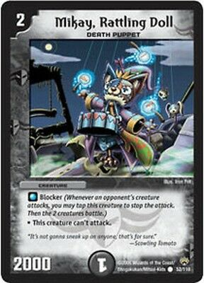 Duel Master TGC Mikay, Rattling Doll DM10 Shockwaves of the Shattered Rainbow