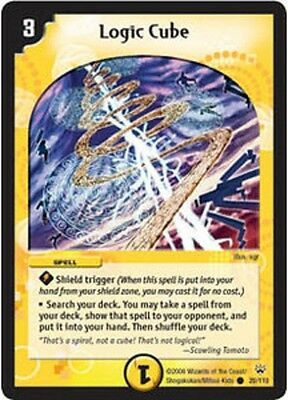 Duel Master TGC Logic Cube DM10 Shockwaves of the Shattered Rainbow