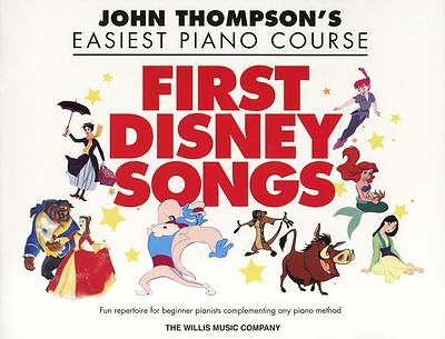 Easiest Piano Course First Disney Songs Learn to Play EASY Pop Music Book KIDS