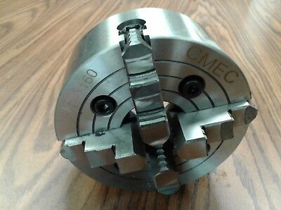 "6"" 4-JAW LATHE CHUCK with independent  jaws #0604F0 - NEW"