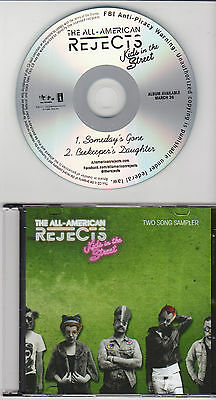 The All-American Rejects - Kids In The Street - Promo 2 Song CD w/ Free Sticker