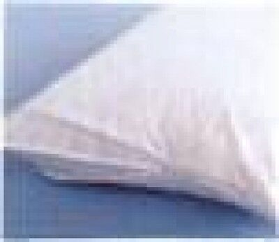 6 Generic Standard Size Sheets 60% Cot 40% Poly White Pillow Protectors 20 X 26