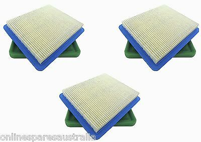 3 Air & Pre Filters replace Briggs and Stratton Quantum 491588s fits Lawn Mower