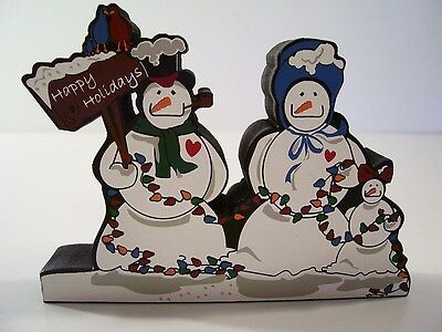 Christmas Cool And The Gang Snowmen Shelia's Collectible New