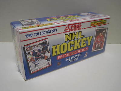 1990-91 Score Hockey Cards American Edition Complete Set Of 445 Cards