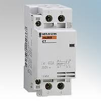 Merlin Gerin 15961 Contactor Multi 9 CT2000 25A 3 pole N/O contacts 230/240V AC