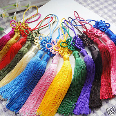 Wholesale 20pcs CHINESE HANDMADE KNIT CAR DECOR CHINESE KNOT FENG SHUI