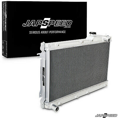 Japspeed Aluminium Alloy Race Radiator Rad For Mazda Mx-5 Mx5 Mk1 Na 1.6 Manual