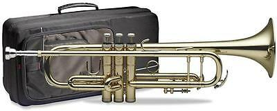 Stagg 77TCBSC Trumpet with Rigid Padded Gig Bag