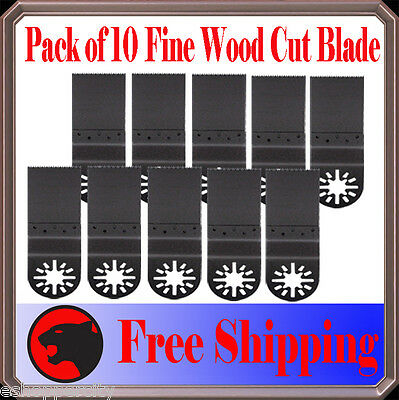 10 Fine Wood Oscillating Multi Tool Saw For Blade Fein Multimaster Bosch Dremel