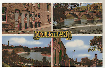 Coldstream - Multiview Photo Postcard c1950