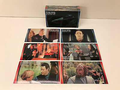 STAR TREK INSURRECTION THE MOVIE (Skybox/1998) Complete WIDEVISION Card Set