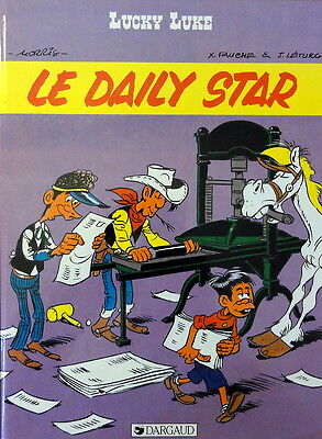 LUCKY LUKE N° 53 Le Daily Star BD EO 1984 Dargaud