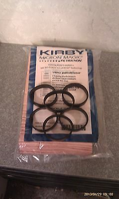 6 Belts to fit Kirby 9 Sentria Micron Magic G3-6 UG Vacuum Bags BRAND NEW