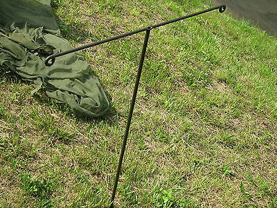 military ground troop mosquito netting t bars holder support set 2 sleeping mat
