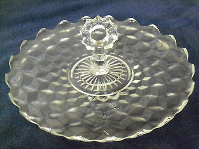 """Fostoria American 12"""" Handled Lunch Tray (Great Condition)"""